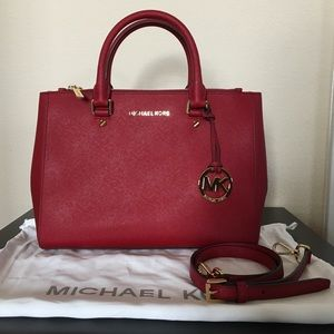 ♦️Michael Kors Medium Sutton Satchel